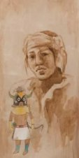 - NAVAJO WITH KATCINA